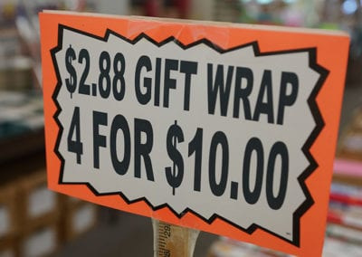 Big Al's Gift Wrap Deals
